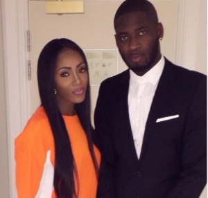 MAMA Winner Tiwa & Hubby Teebillz at the 2014 Award Show